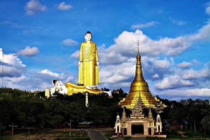 Что находится внутри самой высокой статуи Будды в Мьянме