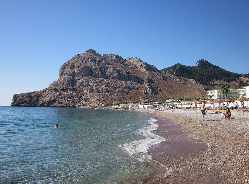 Пляж Колимбия Родос