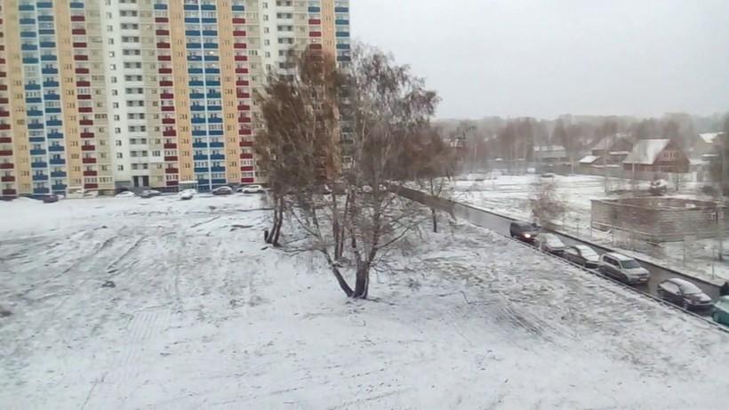 Позавчерашний снегопад