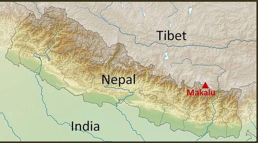 Географическое положение Макалу