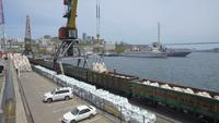 Портовая часть Владивостока