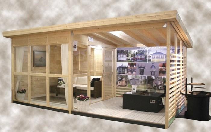 На Amazon продается гостевой дом, который можно собрать у себя во дворе за 8 часов