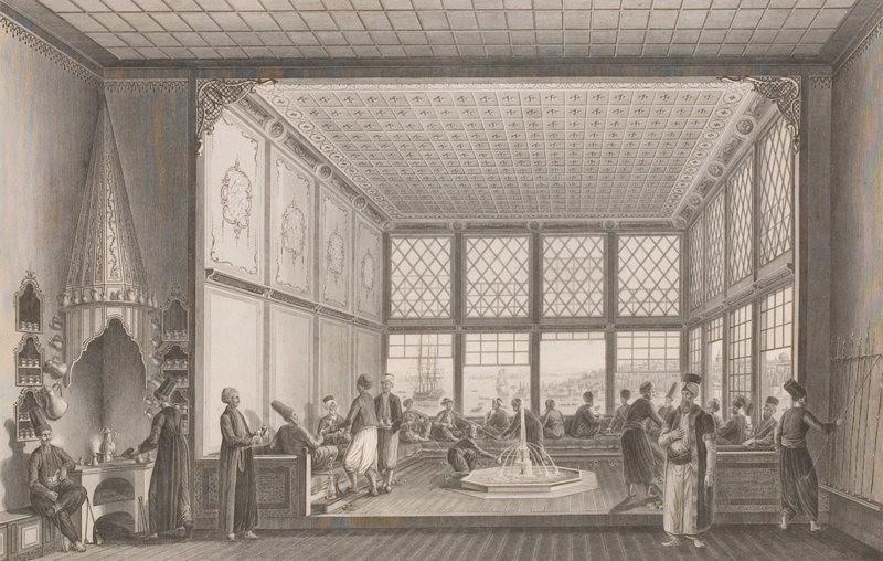 Османская кофейня, 1819 год