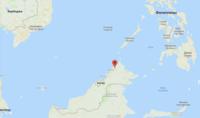 Кинабалу на карте