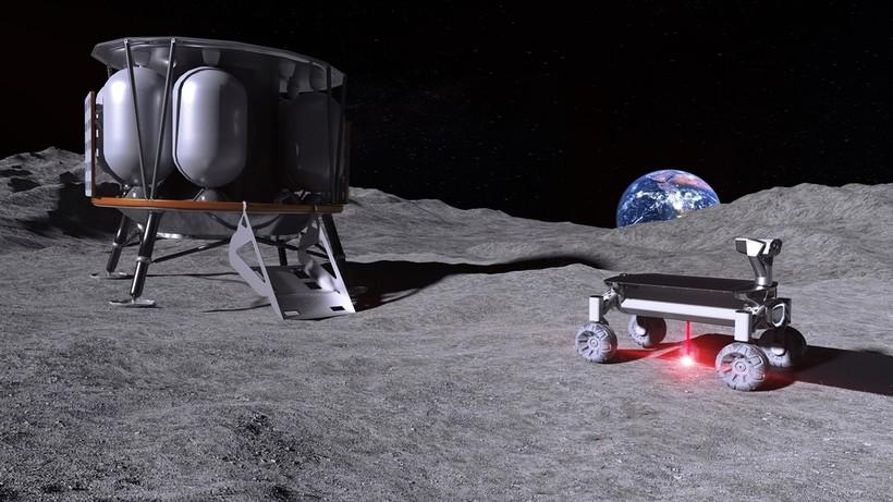 Жилые модули, дороги и космодром: на Луне все будет построено из местного грунта