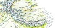 Горная система Каракорум на карте