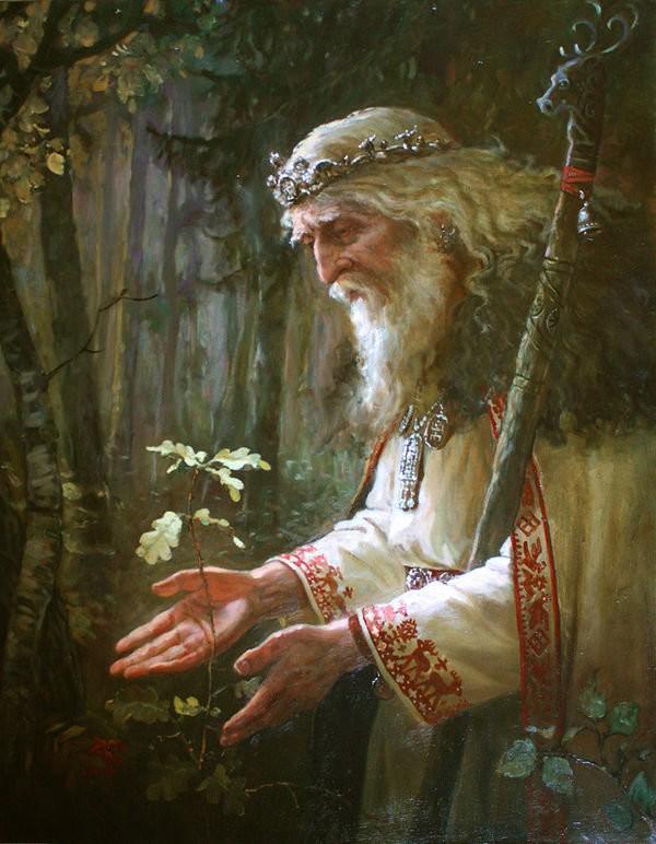 Дождевые черви, гадюки и лягушки: как выживали в лесу древние славяне