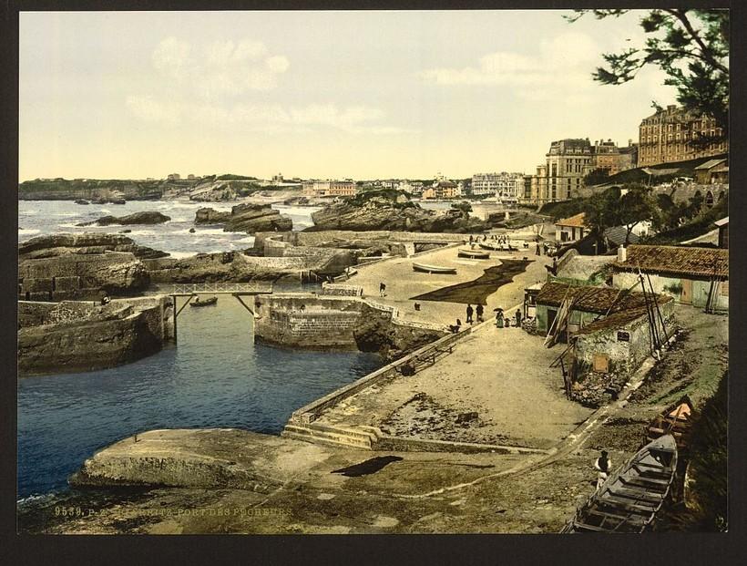 Биарриц. Франция. Фото XIX века