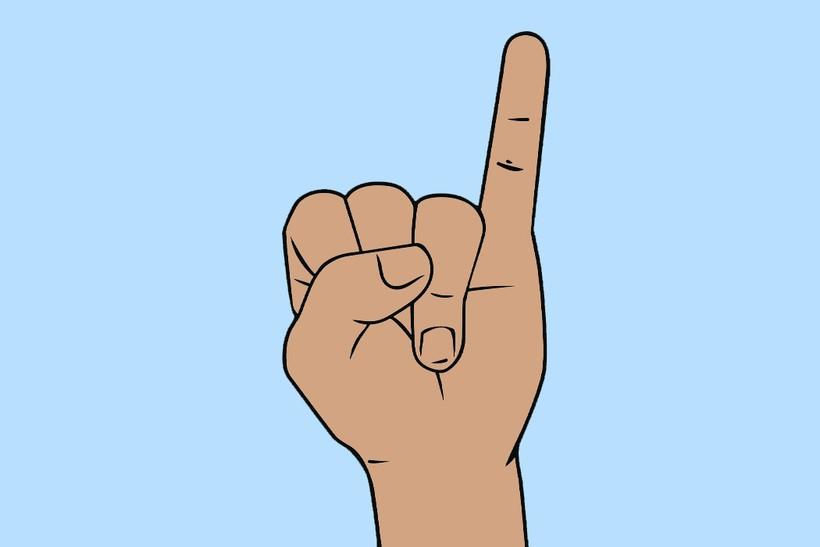 Откуда появились названия пальцев