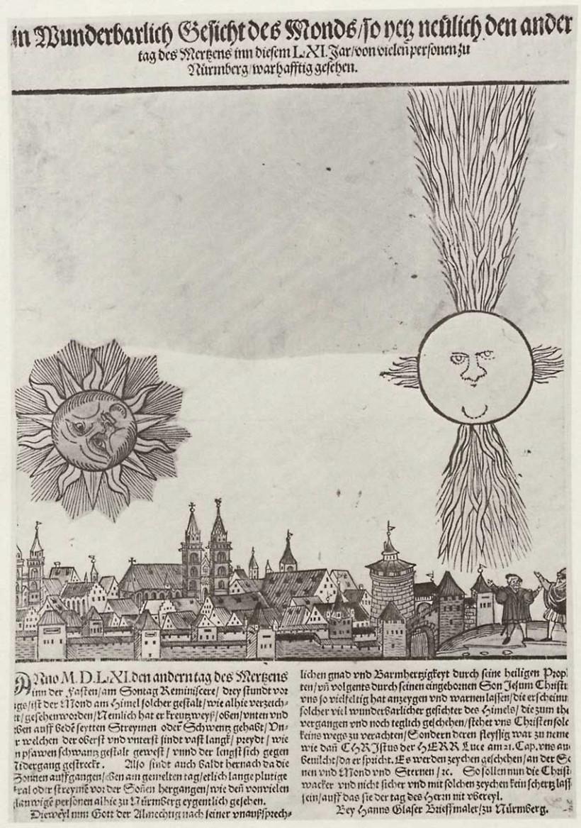 Загадочная небесная битва над Нюрнбергом 1561 года: знамение или фантазия