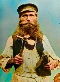 Прекрасные редкие цветные фото русской деревни 1899 года