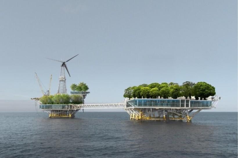 Как нефтяные платформы можно использовать в качестве современных жилых домов