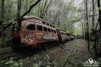 Фотограф показала самые удивительные заброшенные места Пенсильвании