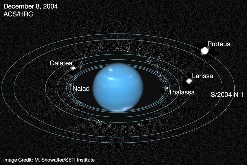 Спутник Нептуна удивил астрономов: такой орбиты больше нет ни у кого во Вселенной