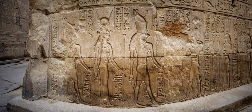Говорящий через века: о чем поведали руины храма Эдфу в Египте