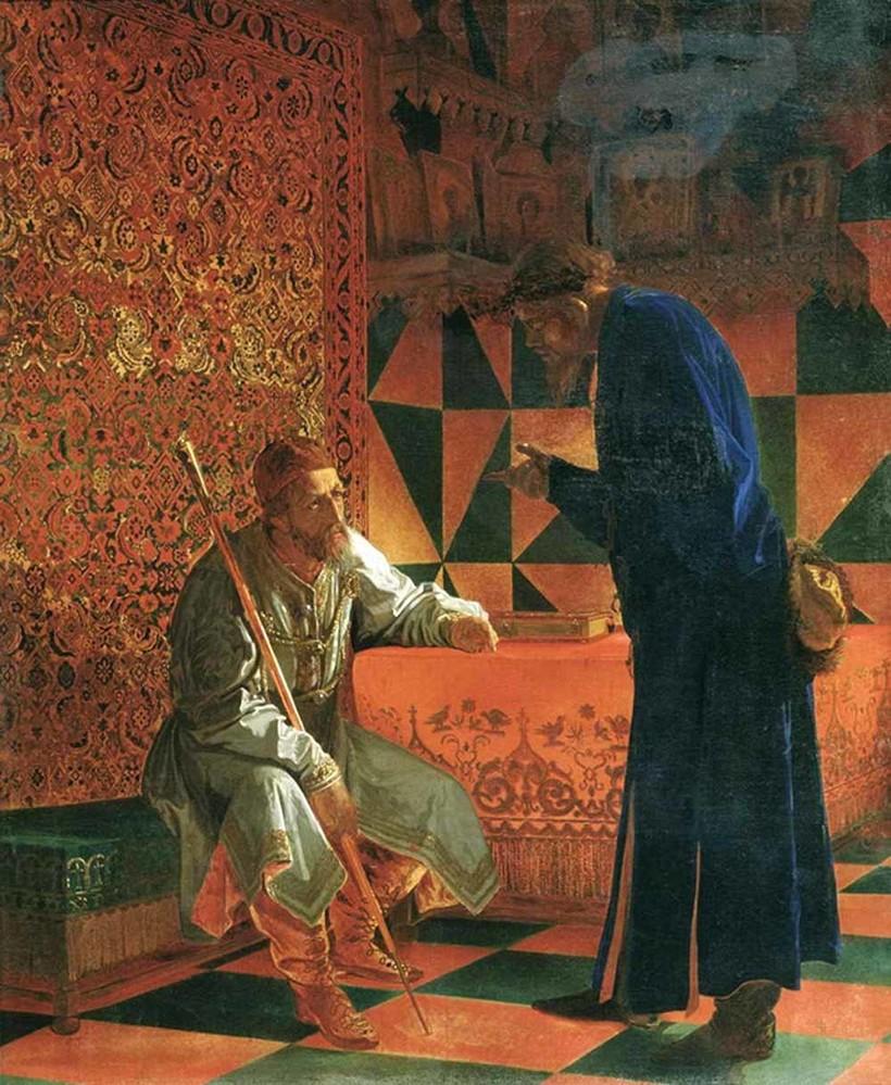 «Иван Грозный и Малюта Скуратов»,1870 г. Г. Седов