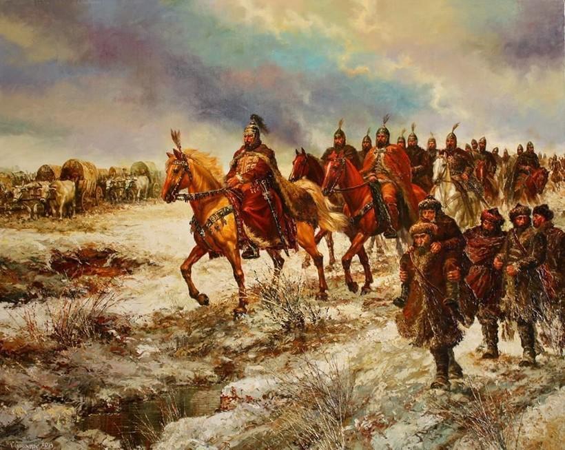 «Миграция болгар Аспаруха». Васил Горанов