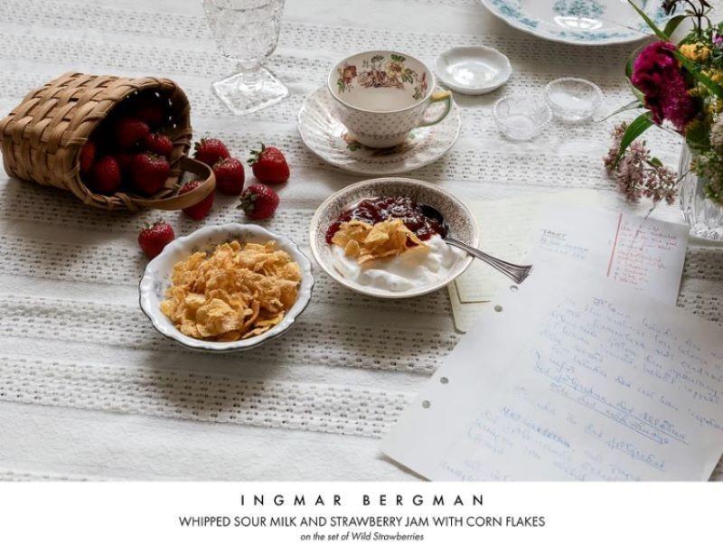 Лапша с мороженым и яйца с чесночным маслом: фотограф снял любимые блюда знаменитостей