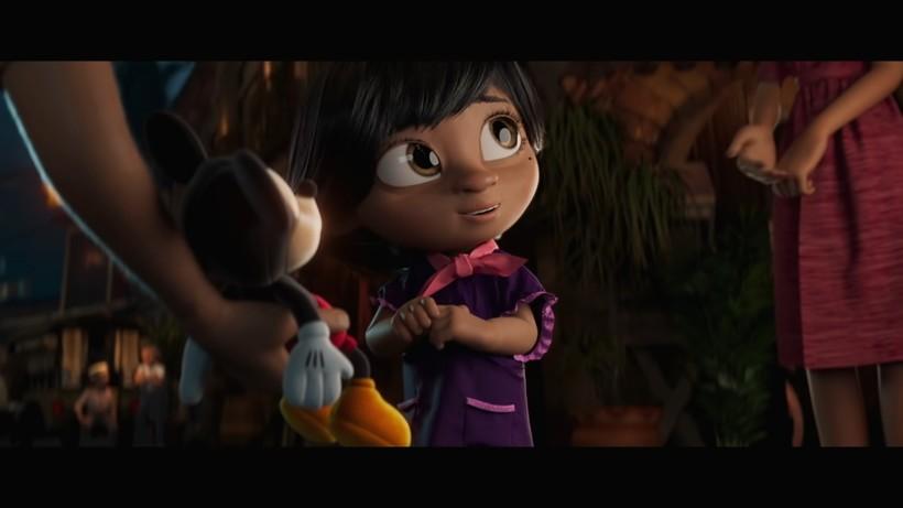 Disney представил новогодний ролик, посвященный семье, который трогает до слез