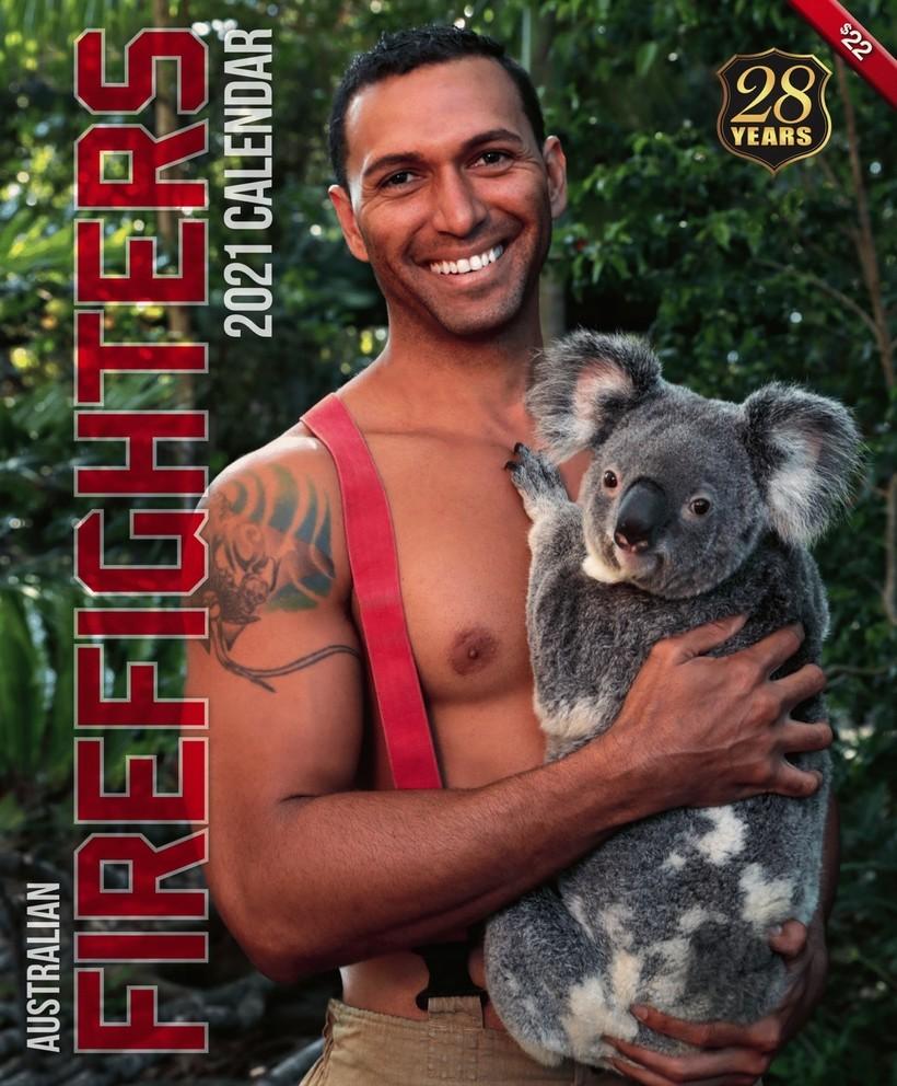 Горячее некуда — пожарные Австралии снялись для календаря ради спасения животных