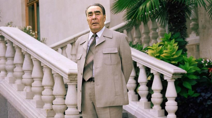 Леонид Ильич Брежнев в Крыму, 1981 год