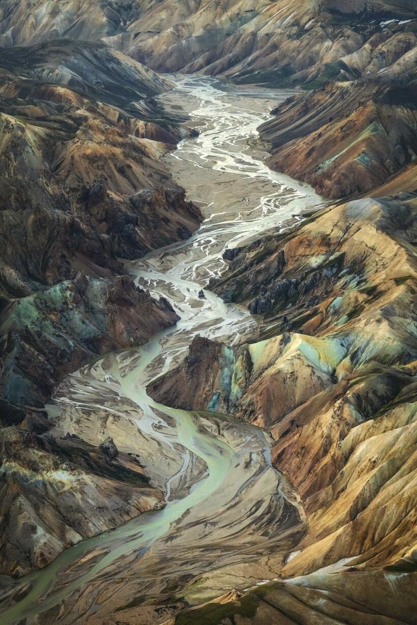 «Поток жизни», Хайленд, Исландия, Кай Хорнунг (Германия)