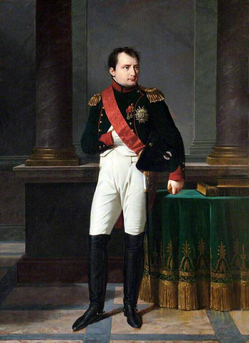 «Наполеон Бонапарт, император», 1812 г. Робер Лефевр