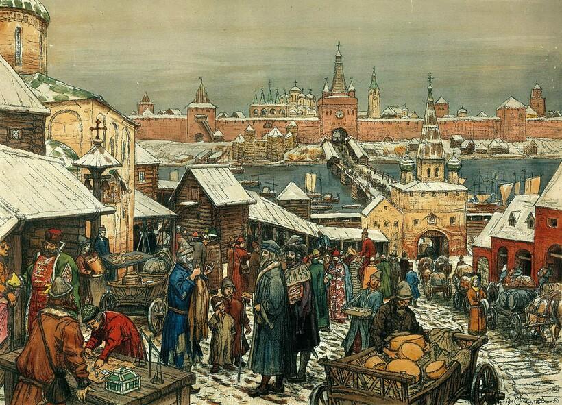Поташ был одним из товаров, который шел у иностранных купцов нарасхват