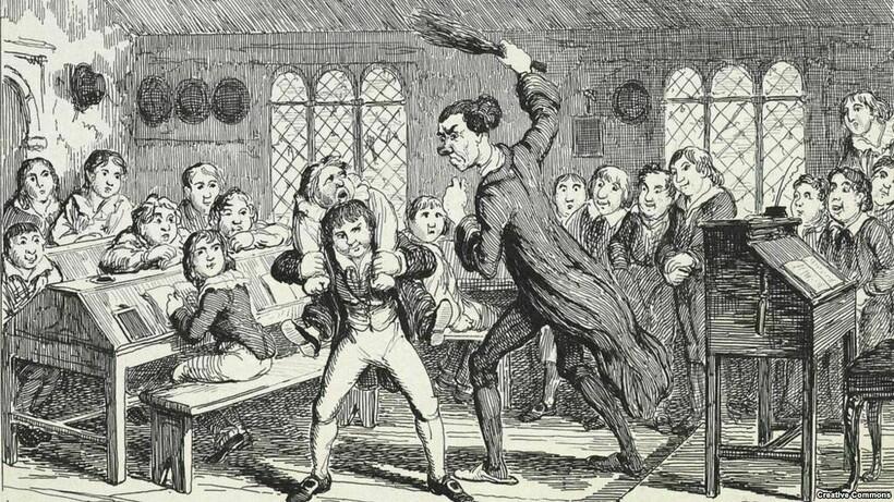Телесные наказания особенно возмущали школьников, это стало основной причиной бунта