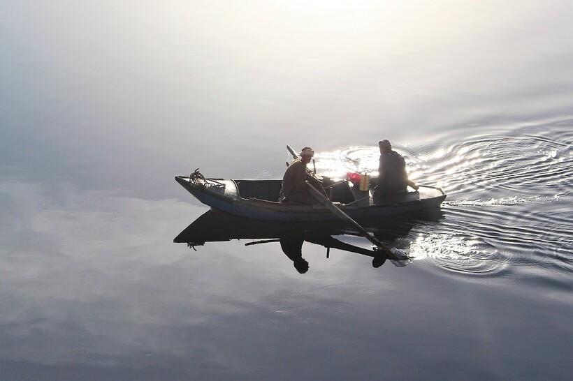 Рыбаки на Ниле