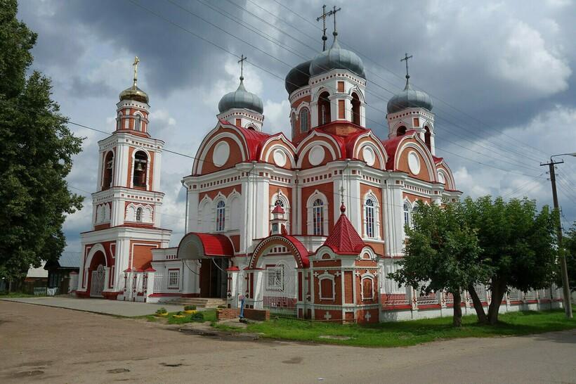 Смоленская церковь, Гордеевка