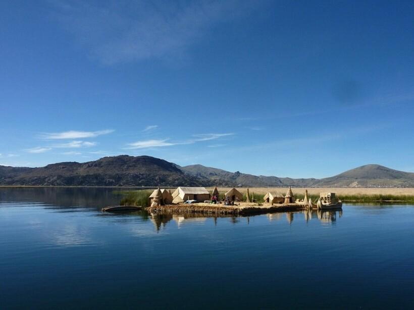 Индейцы живут на озере
