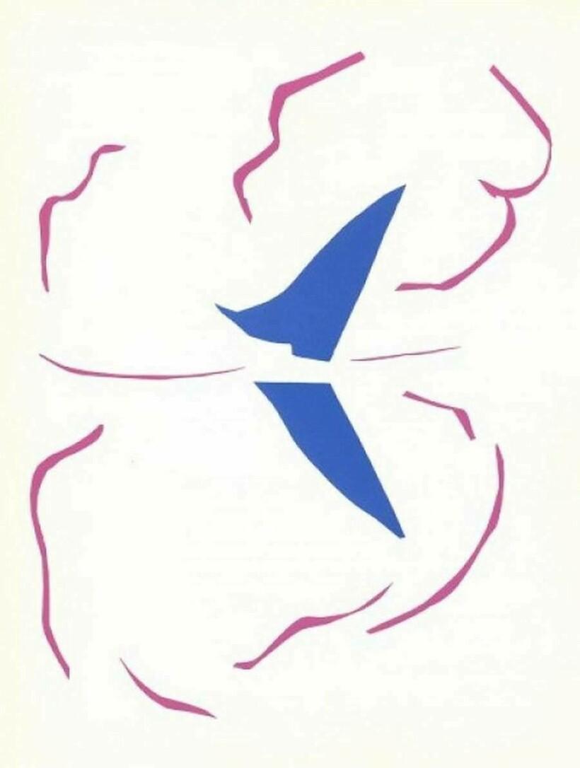 «Лодка», 1937 г. Анри Матисс