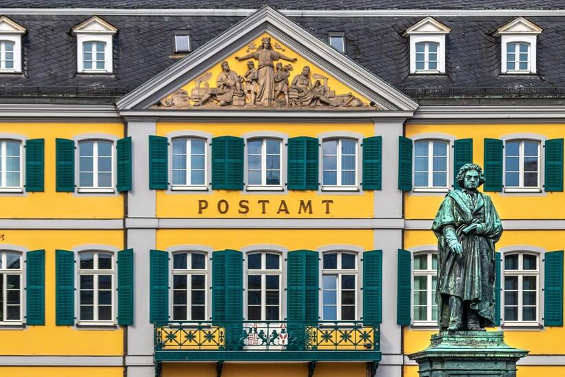 Почта в Бонне