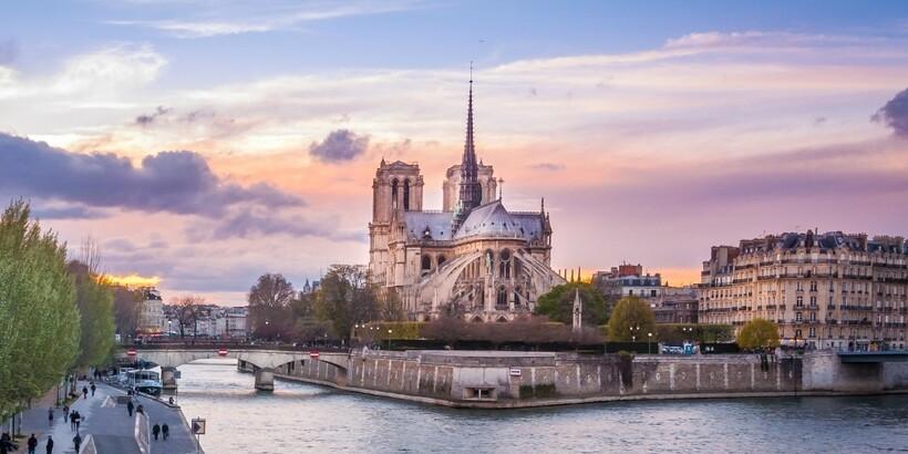 Сена в Париже