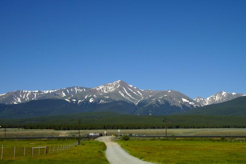 Высотные пояса горы Эльберт