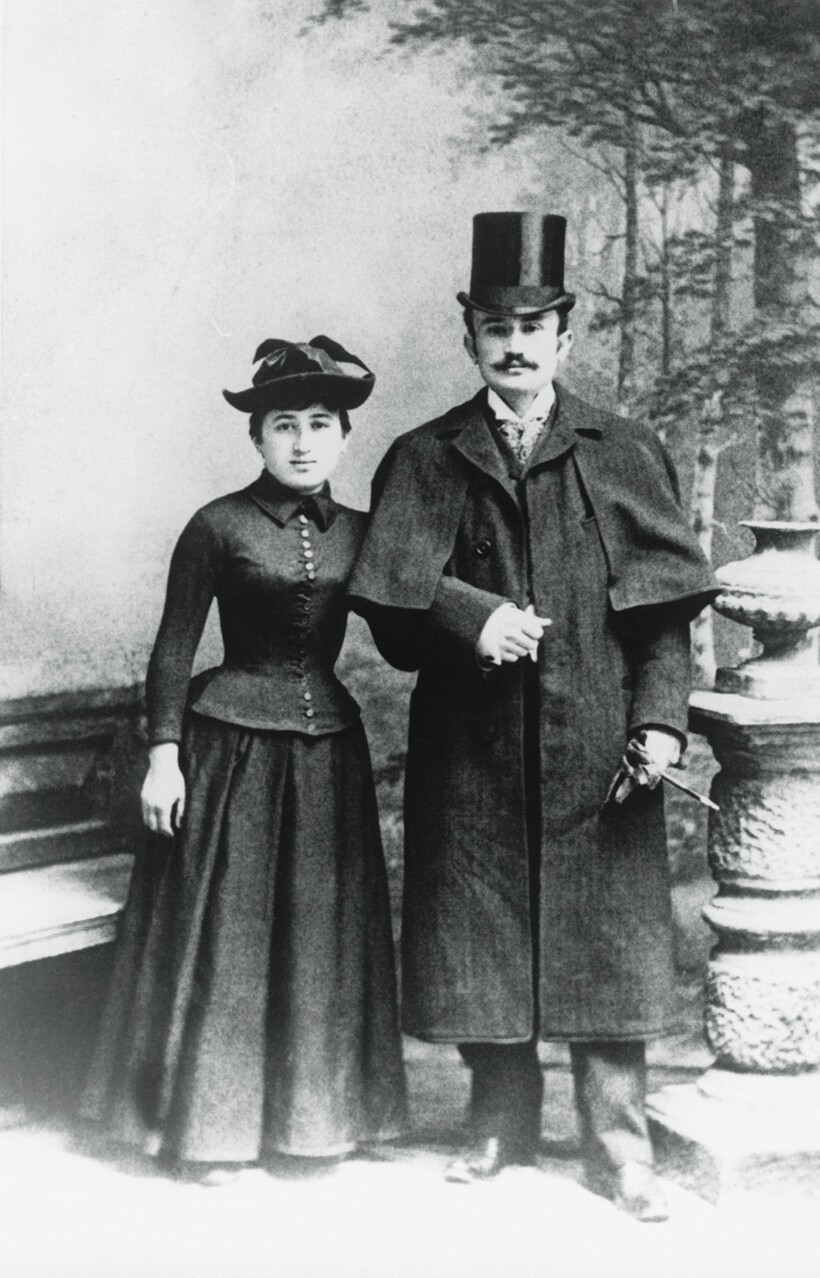 Роза Люксембург и Лео Йогихес, 1892 год
