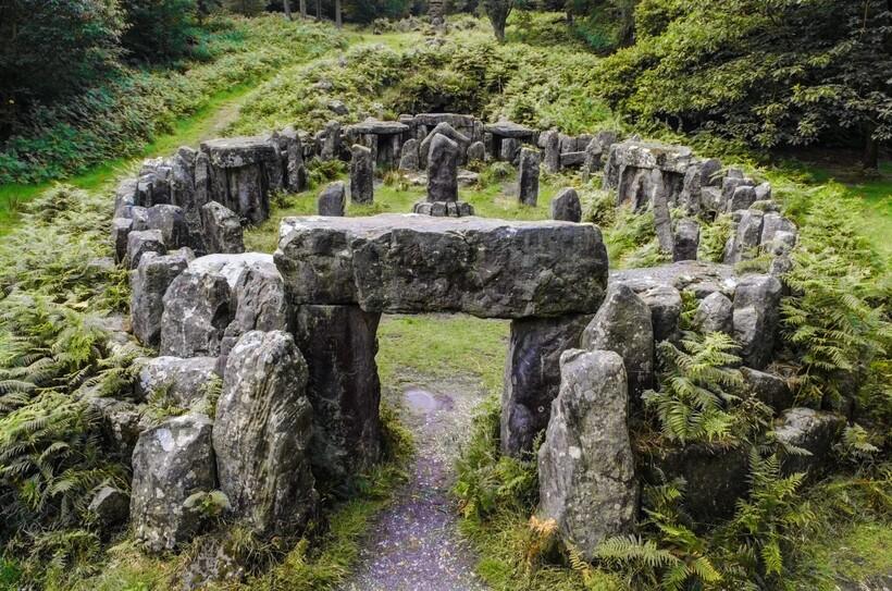 Кельтское святилище в Йоркшире