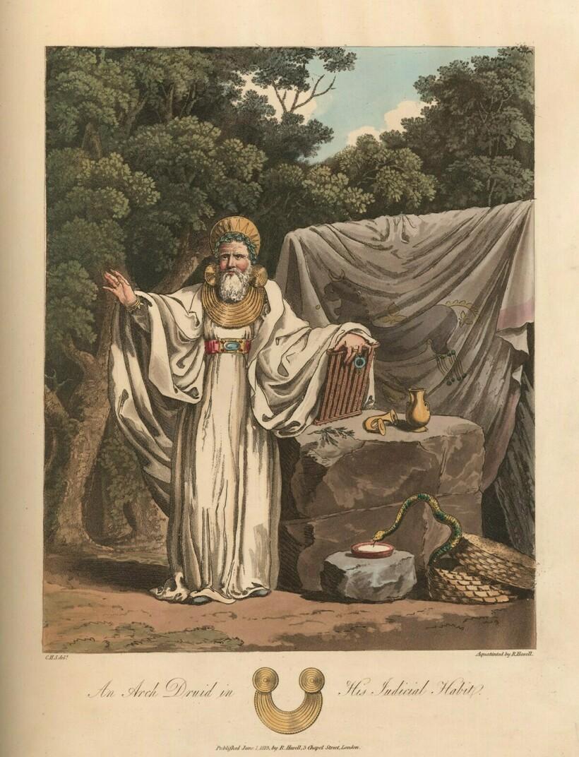 «Верховный друид на своей судебной службе», 1776-1859 годы. Чарльз Гамильтон Смит