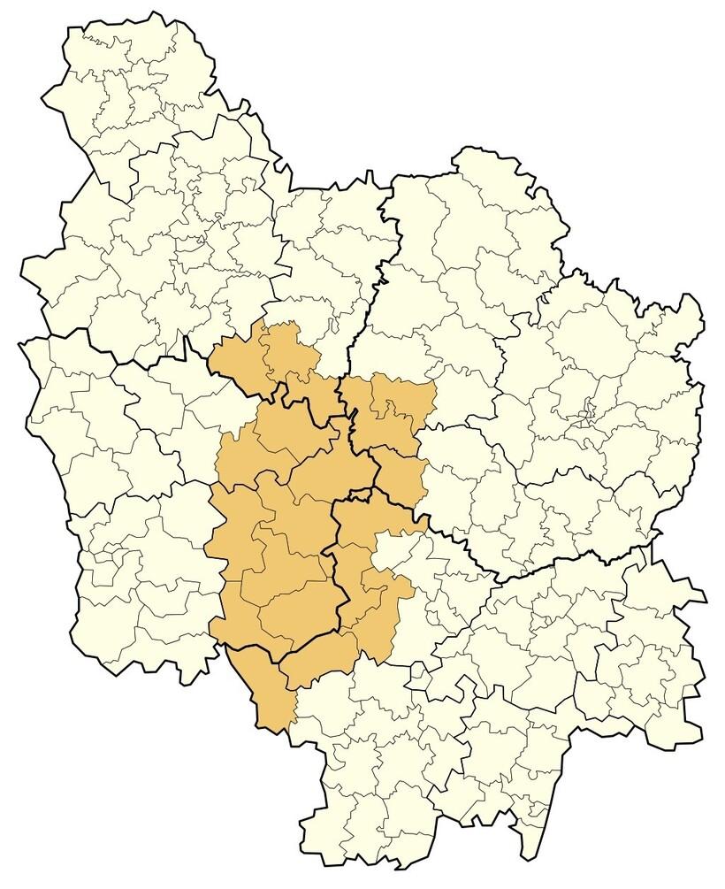 Карта Бургундии