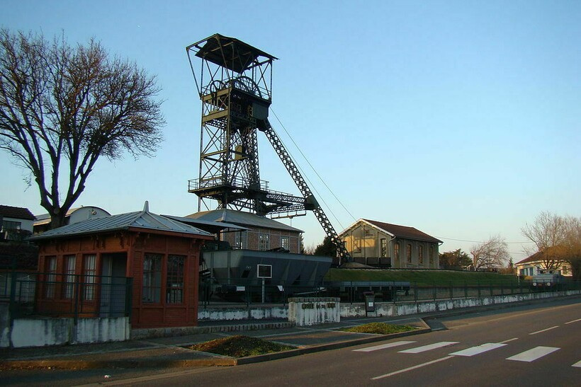 Добыча угля на плоскогорье Морвана
