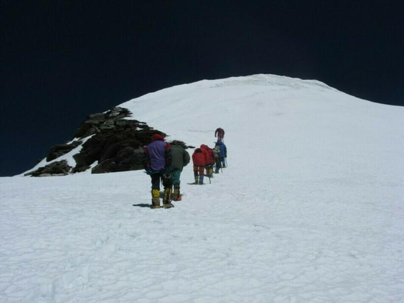 Вершина горы