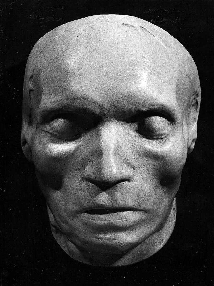 Посмертная маска Людвига ван Бетховена (1770-1827)