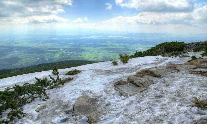 Вид с горы Бабья