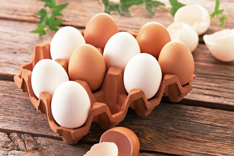 Яйца различают не только по цвету