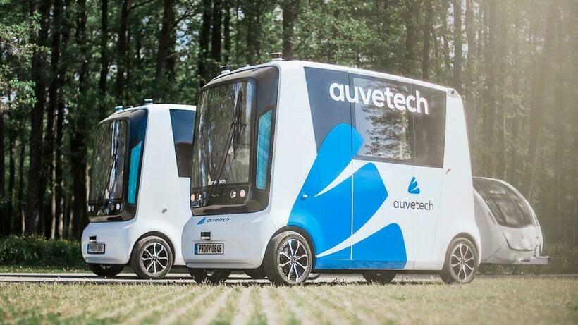 Так выглядит первый беспилотный общественный транспорт
