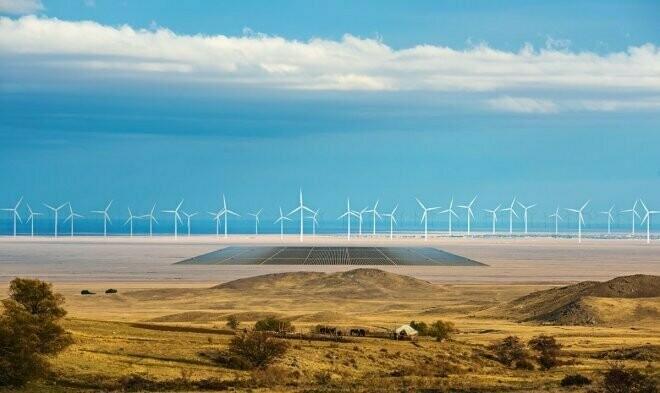 Завод будет целиком и полностью зависеть от зеленой энергии