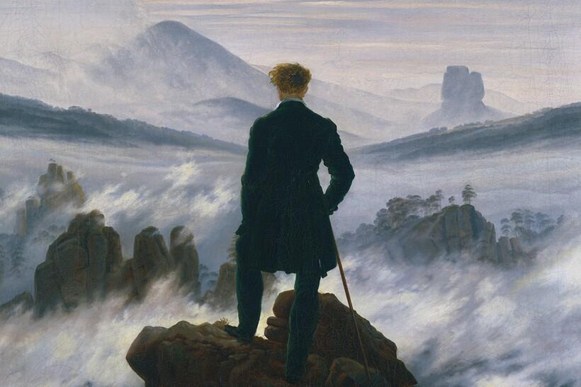 Холм на картине К. Д. Фридриха