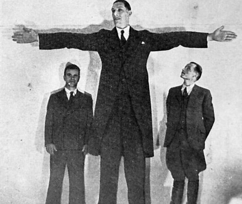 Каксамый высокий человек вмире жилвРоссийской империи