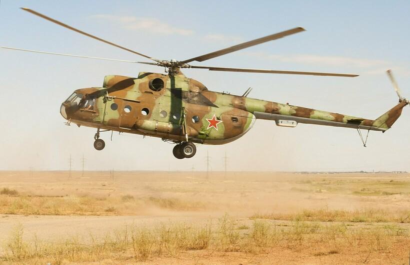 Советский вертолет Ми-8. Фото: Pavel Kazachkov/flickr.com